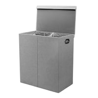 Double Compartment Laundry Sorter (Dark-Light)