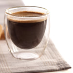 Espresso Glass Double Wall 4PC Set 95ML Barista