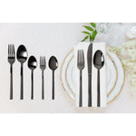 Flatware 20 pcs Stainless Steel 18/10 Black Mirror