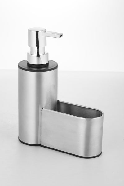 Soap Pump Dispenser | Sponge Caddy | Stainless Steel