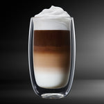 Latte Macchiato Double Wall Glass 4PC 380ML Barista