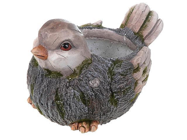 OUTDOOR GARDEN FIGURINE PLANTER (BIRD) - BayShoomar
