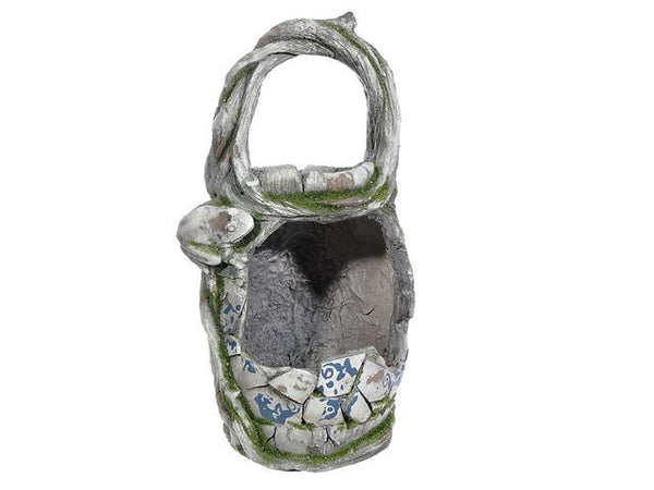 OUTDOOR GARDEN PLANTER AND BIRD FEEDER (MOSAIC BASKET) - BayShoomar