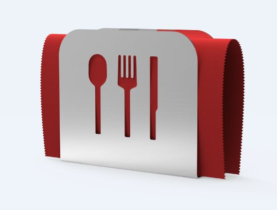 Napkin Holder | Cutlery Design | Stainless Steel