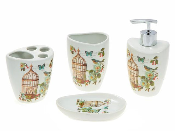 Bathroom Accessory Set 4 pcs Ceramic