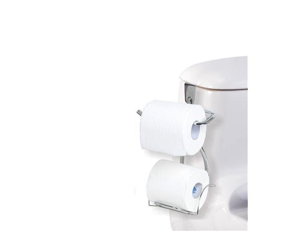 Toilet Paper Holder Over the Tank Dual