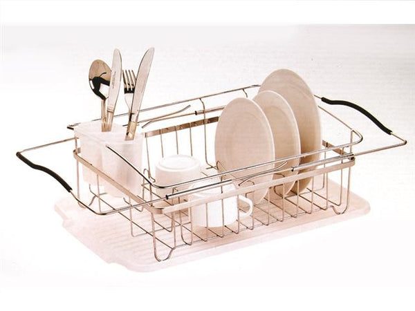 Over the Sink Dish rack with tray - BayShoomar