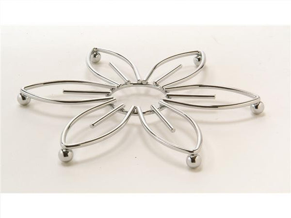 Trivet Flat Metal Flower Design