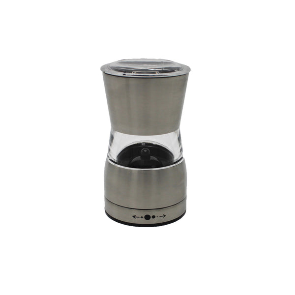 Pepper & Salt Mill Stainless Steel & Acrylic Mini - BayShoomar