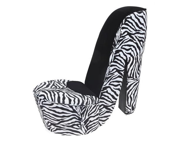 Shoe Chair Zebra - BayShoomar