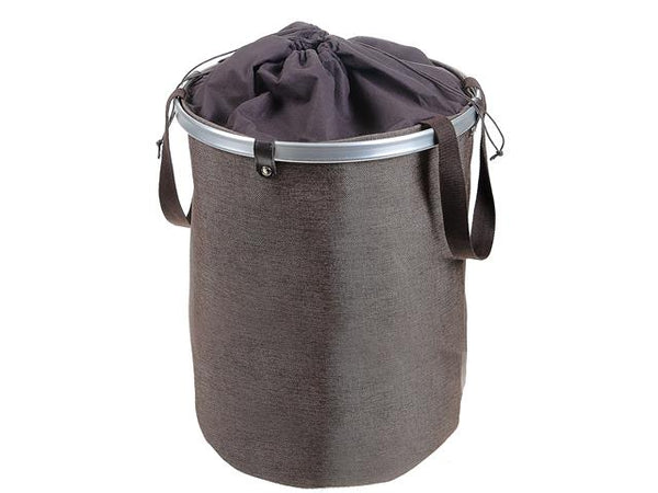 Laundry Hamper with Ring Top [Brown | Gray | White] - BayShoomar