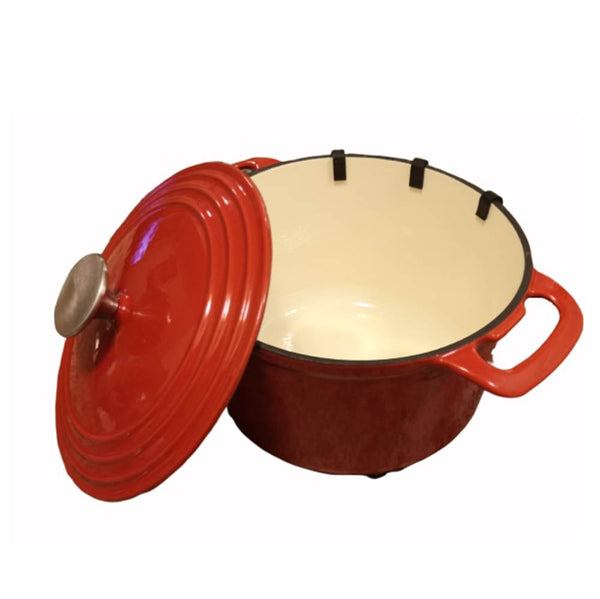 Dutch Oven 3 Ltrs Cast Iron Enamel - BayShoomar