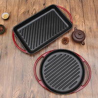 "Griddle 13"" Cast Iron Enamel - BayShoomar"