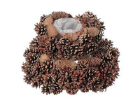 PINECONE PLANTER WITH LINER (LARGE) - BayShoomar