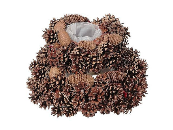 PINECONE PLANTER WITH LINER (SMALL) - BayShoomar