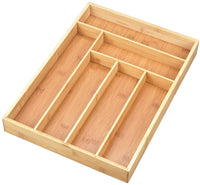Bamboo Cutlery Tray | Drawer Divider