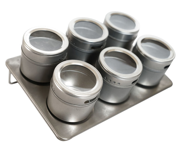 Magnetic Spice Jar Set - BayShoomar