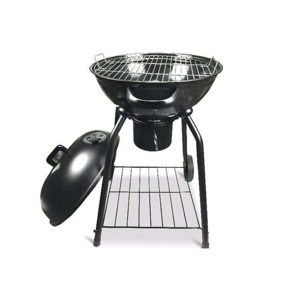 "18"" Portable Kettle Grill with Boiler - BayShoomar"