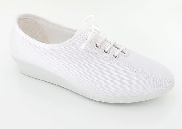 Chaussure toile blanc