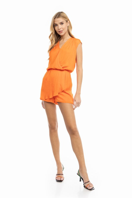 ORANGE YOU A ROCKSTAR ROMPER