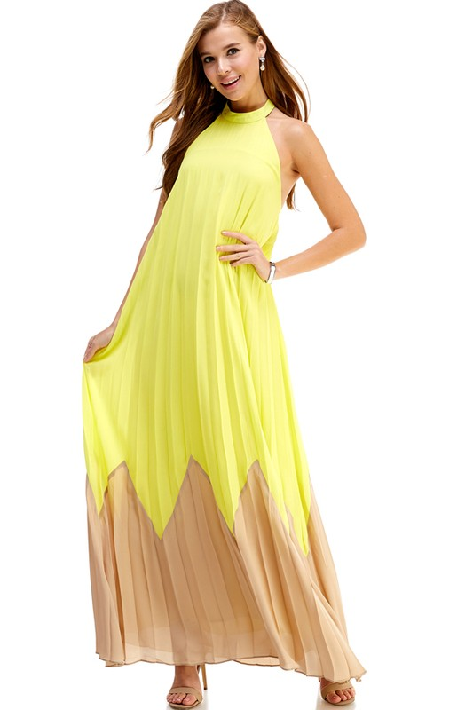 LIMONCELLO MAXI DRESS