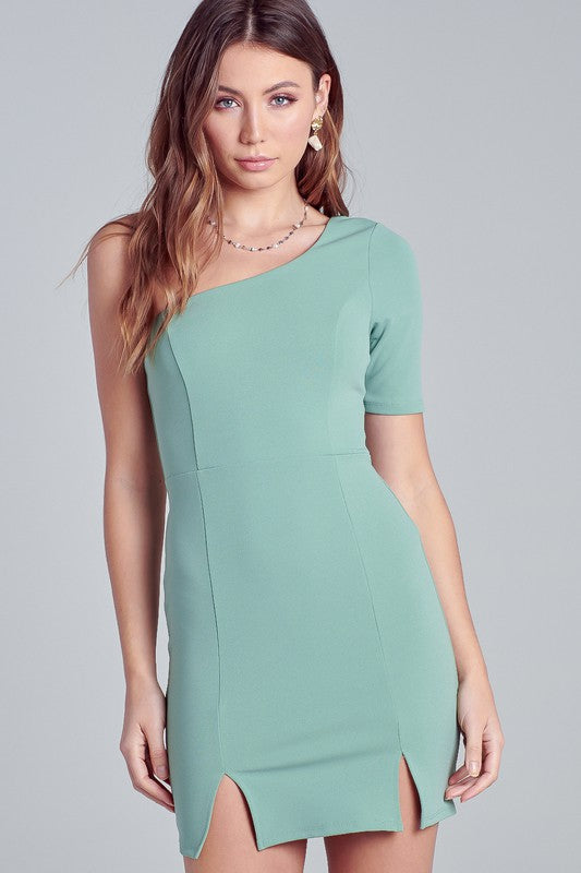 PISTACHIO PARTY DRESS