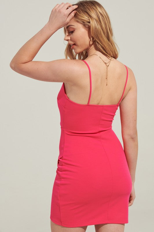 BUBBLE GUM BODYCON DRESS