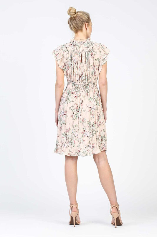 BUNCHES OF BLOSSOMS DRESS