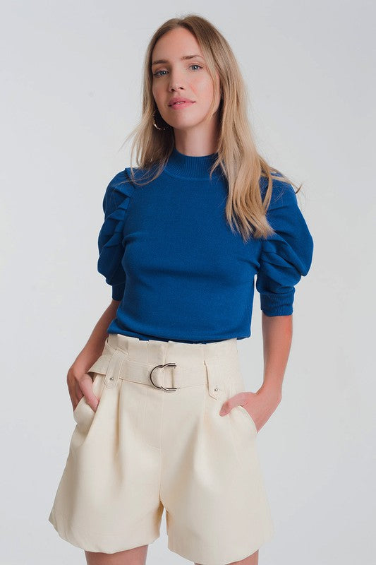 NO IF'S OR PUFF SLEEVE TOP