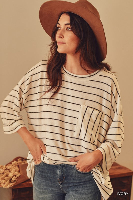 STRIPE AND WRONG TOP