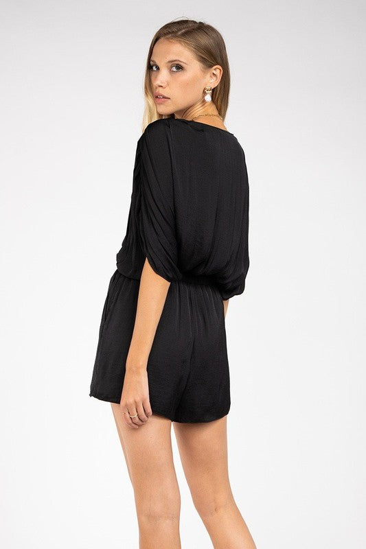 IF YOU PLEATS ROMPER