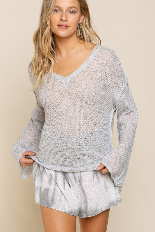 STRAPPY HOUR SWEATER