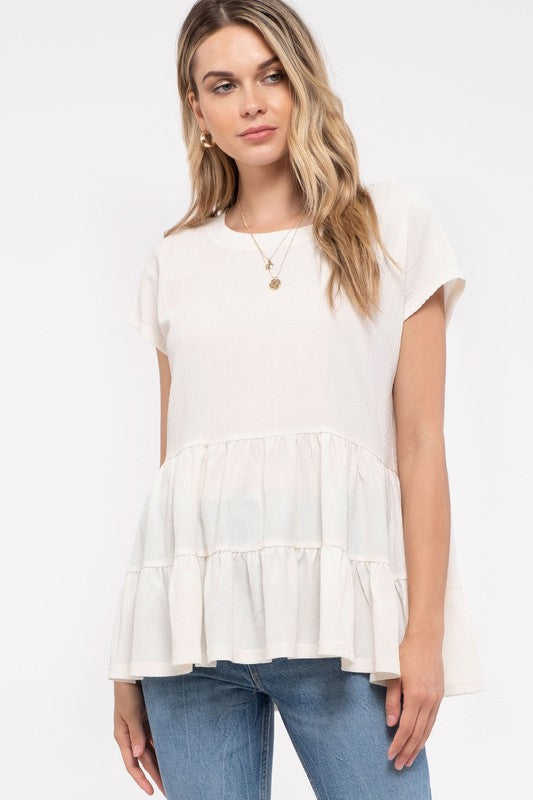 IVORY GOOD TIME TOP