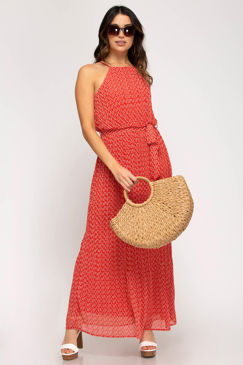 CHERRY GO ROUND DRESS