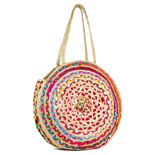 MAGGIE STRAW TOTE
