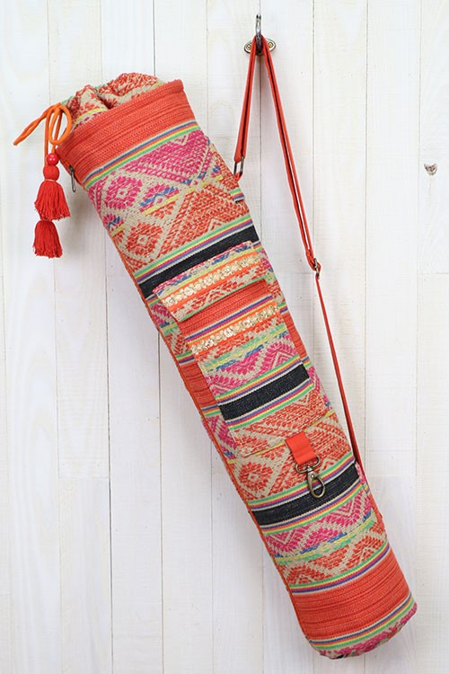 IKAT YOGA MAT WITH POCKET