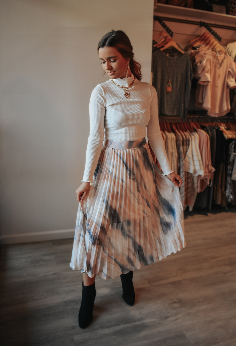 COTTON CANDY SWIRL SKIRT
