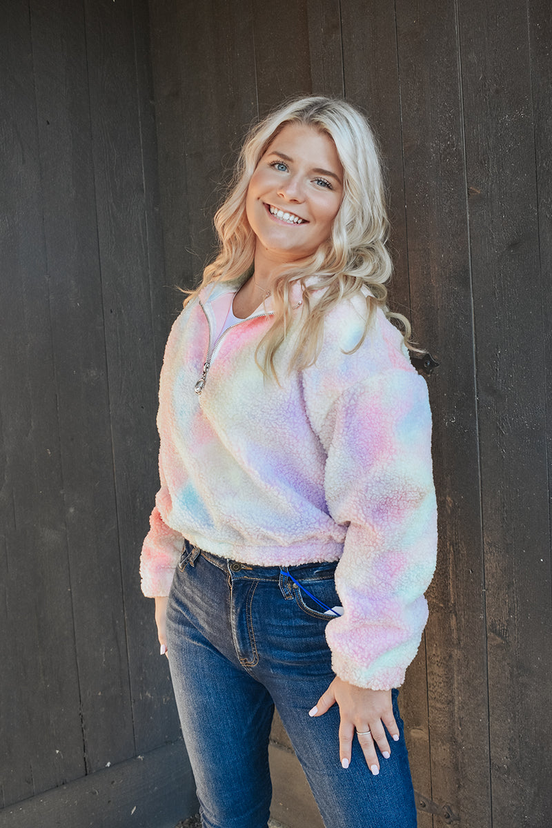 RAINBOW OR SHINE PULLOVER
