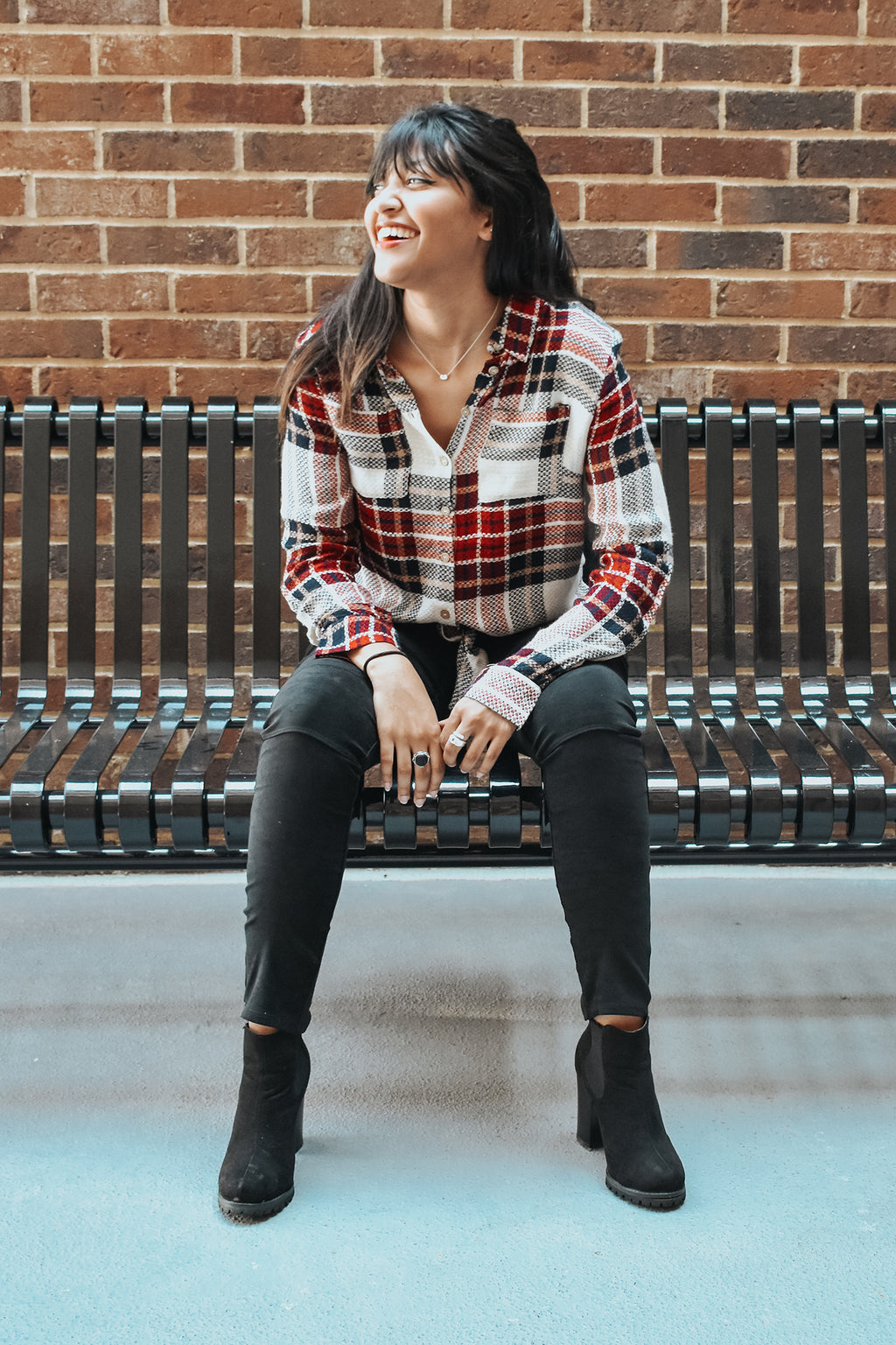 PLAID TIDINGS TOP