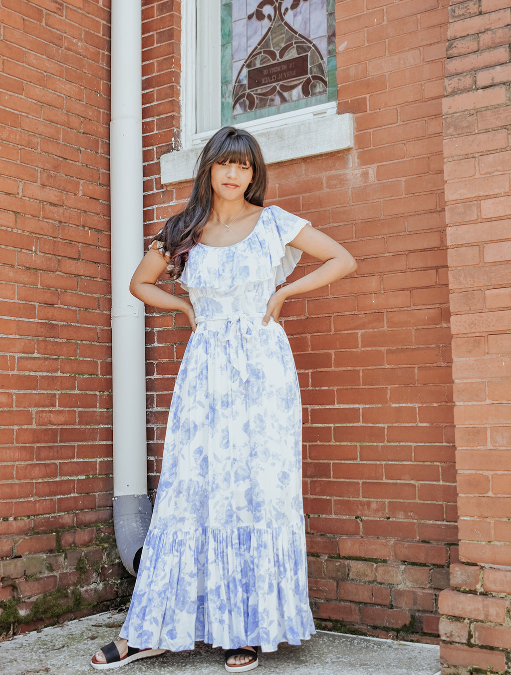 TEA PARTY MAXI DRESS