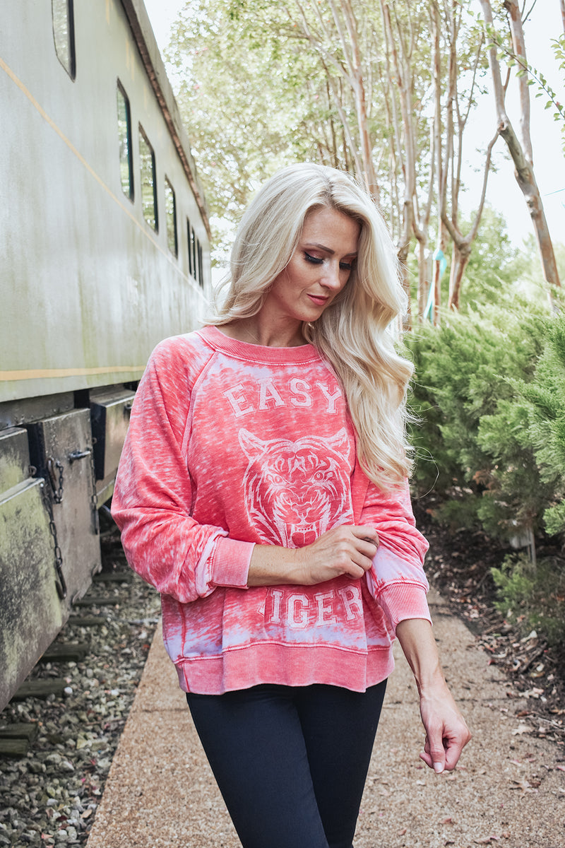 EASY TIGER BURNOUT SWEATSHIRT