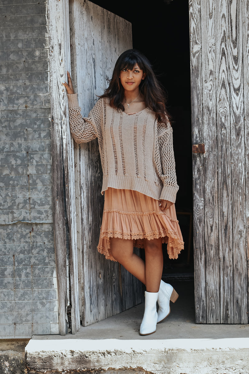 STEPPING STONE SWEATER