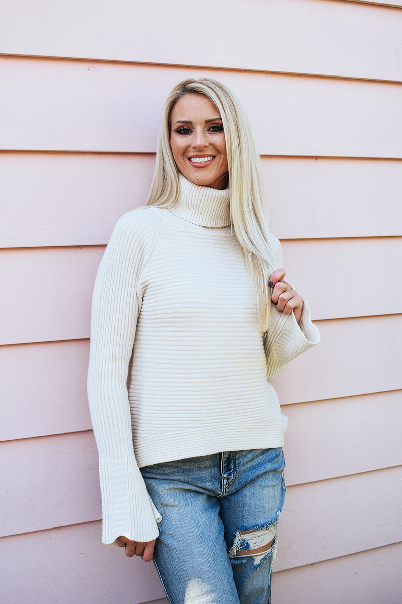 COCONUT CREAM SWEATER
