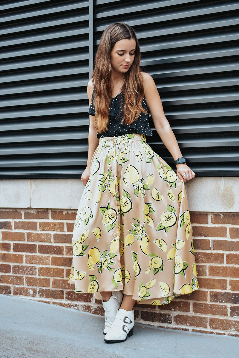 LEMON DROP SKIRT