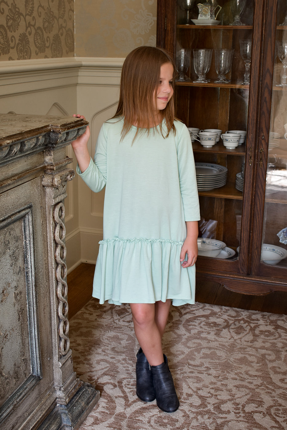 COMES IN WAVES TUNIC DRESS
