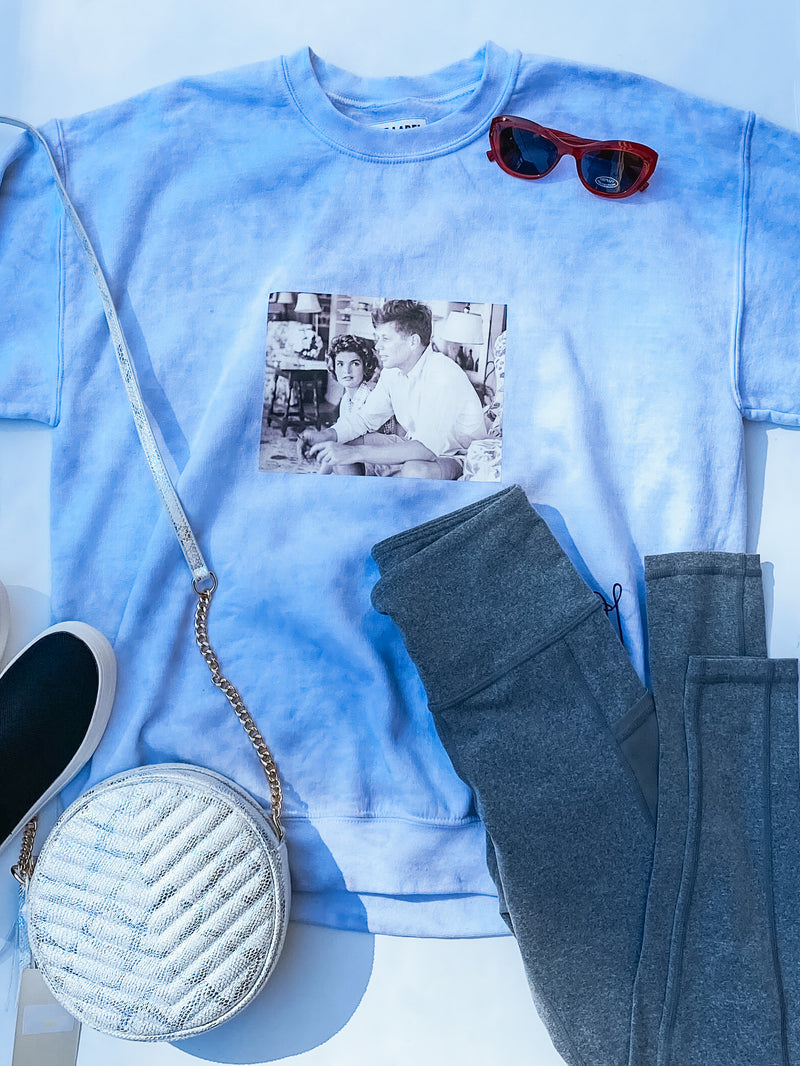 JFK AND JACKIE O SWEATSHIRT