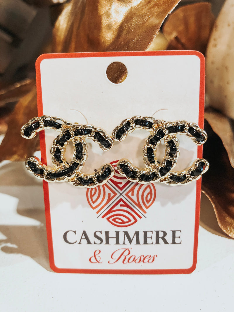 BLACK ROPE CC STUDS