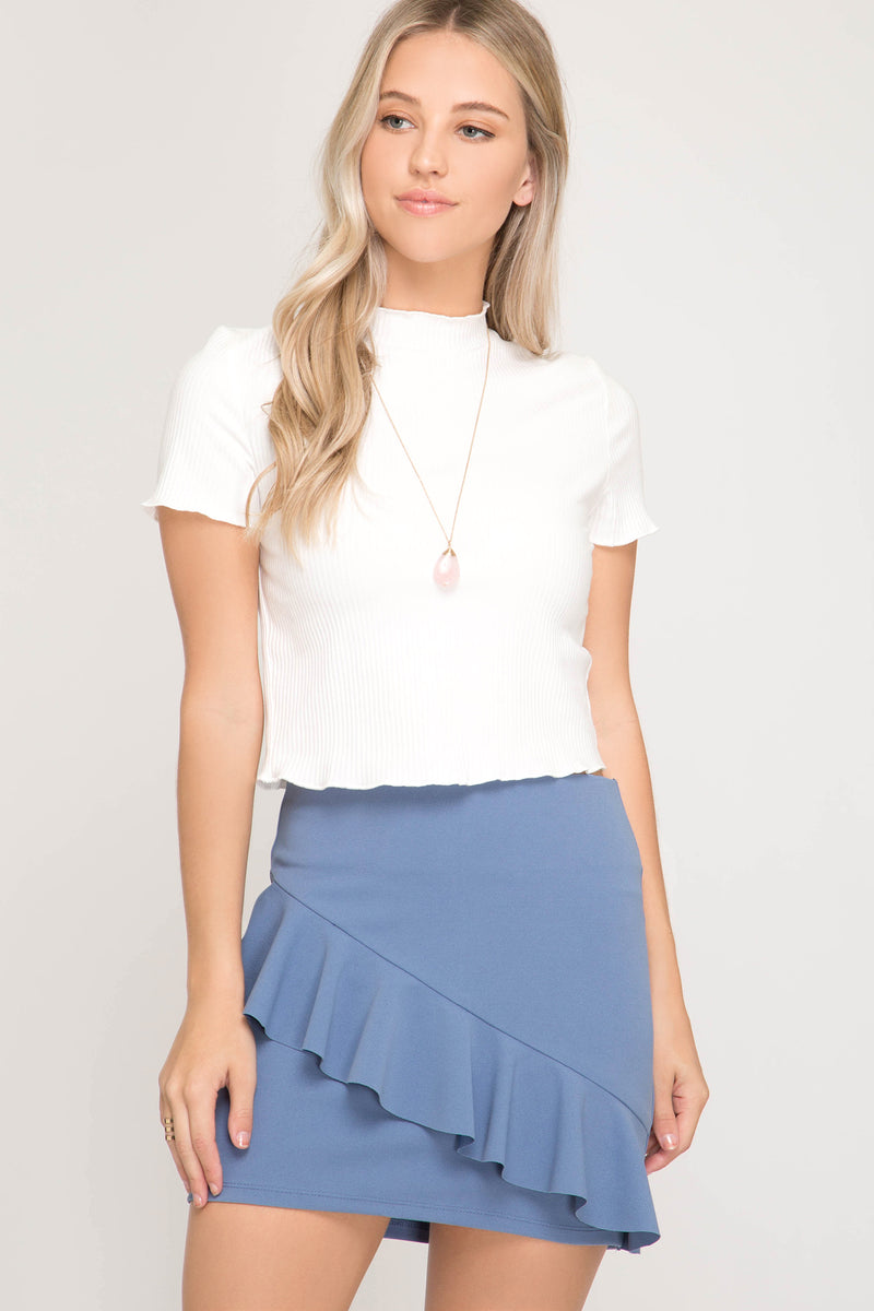 FLARE TO DANCE SKIRT