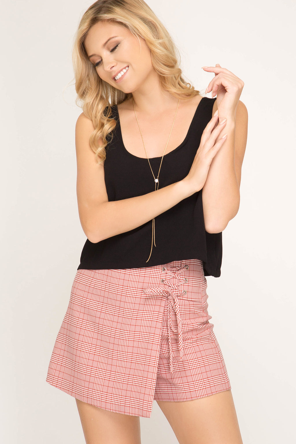 STRINGS ATTACHED SKORT