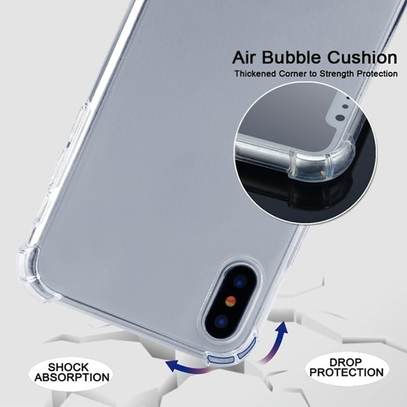 Shoulder Airbag Drop Cover For iphone